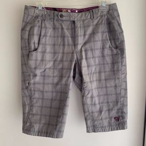 Mountain Hardwear Plaid Shorts
